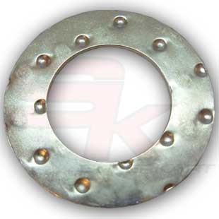 Silver Washer 18x1mm
