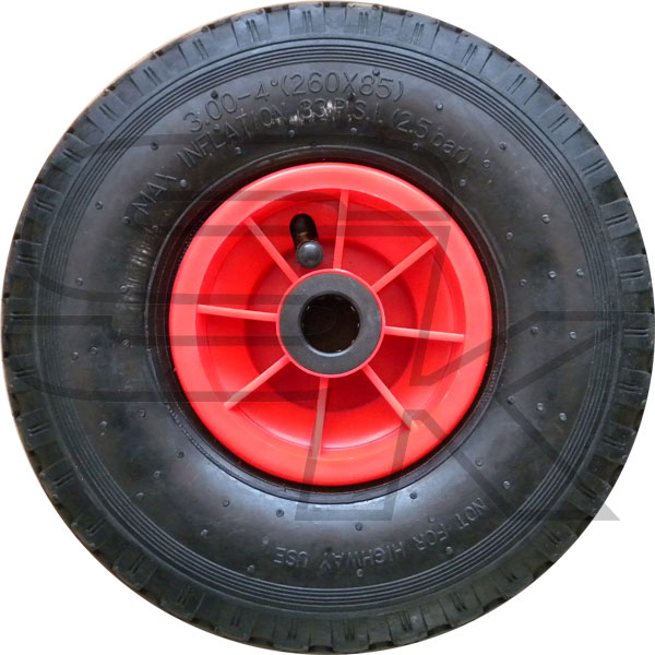 Wheel With Inner tubes For Kart Trolley