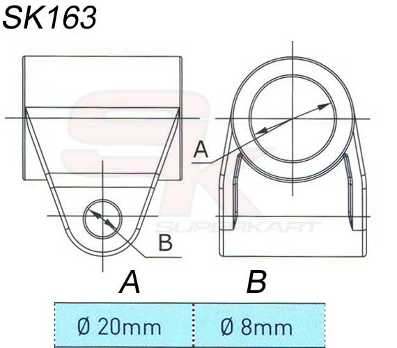 Technical information Support For Steering Column 1 Hole (20/8)