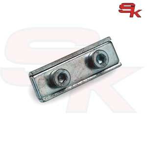 Clamp with Double Screw Rectangular