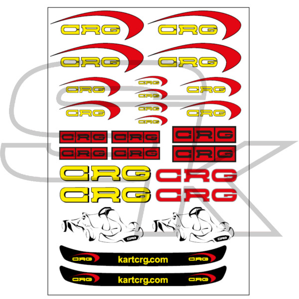 Stickers Kit CRG For Decoration AFS.01333